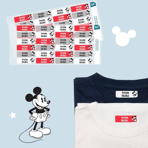 Pack d'étiquettes personnalisées pour les vêtements