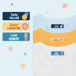 Étiquettes Thermocollantes pour Vêtements - Multi-personnalisations