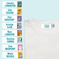 Étiquettes Thermocollantes Disney Animaux pour Vêtements - Multi-personnalisations