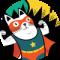 Chat super héros