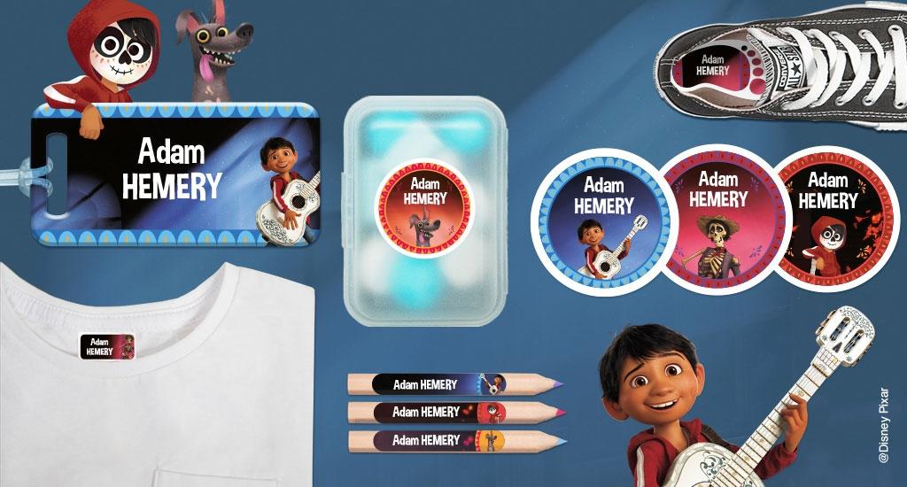 Toutes nos formats d'étiquettes à l'effigie des Princesses Disney