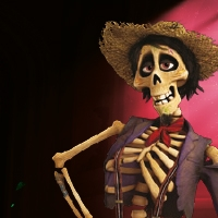 Héctor du film d'animation Coco