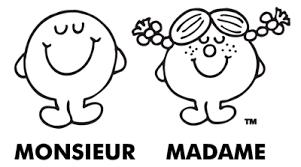Logo produit officielle francophone des Monsieur Madame