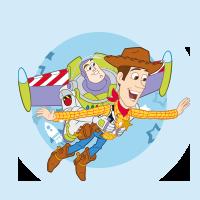 Toy Story (Buzz l'éclair et Woody)