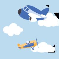 Des avion en vol
