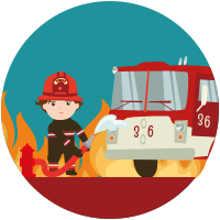 Pompier Garçon