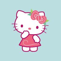 Hello Kitty ambiance été