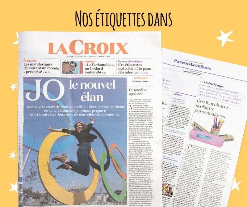 Couverture du journal La Croix  N° 40898 - mercredi 13 septembre 2017