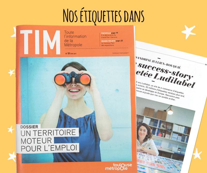 Couverture de TIM (Toute l'information de la Métropole) N°1 été 2017
