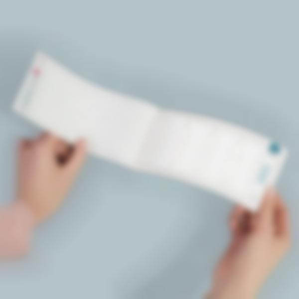 carnet e tiquettes thermocollantes vie rges blanche non imprime es