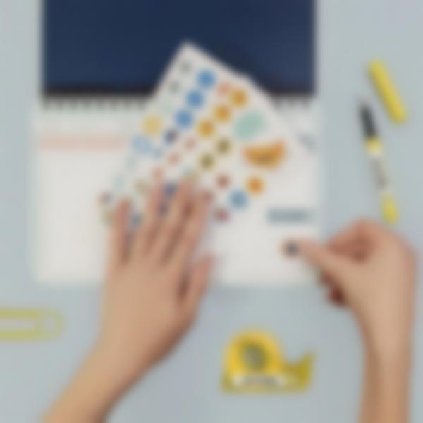 etiquettes autocollantes pour marquer les affaires de bureau 3