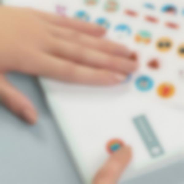 etiquettes autocollantes pour marquer les affaires de bureau 4