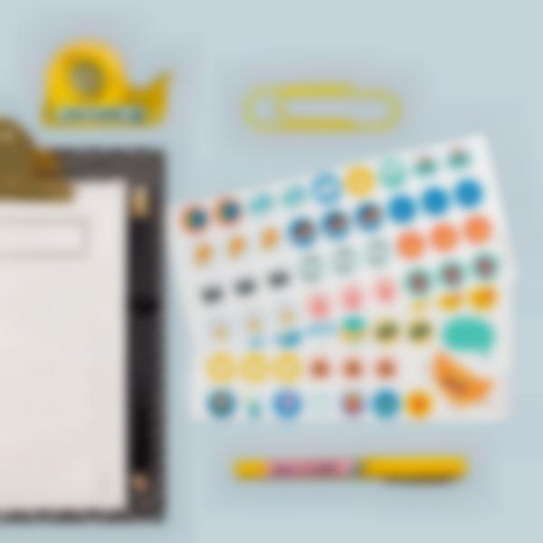 etiquettes autocollantes pour marquer les affaires de bureau 4 1