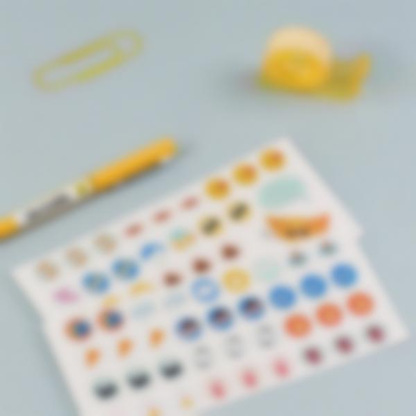 etiquettes autocollantes pour marquer les affaires de bureau 5