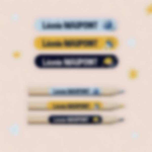 etiquettes fournitures scolaires crayons 3
