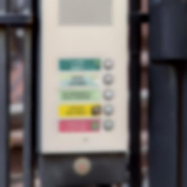 etiquettes nom boite aux lettres et interphone