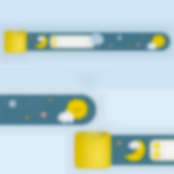 id bracelet identification cloud