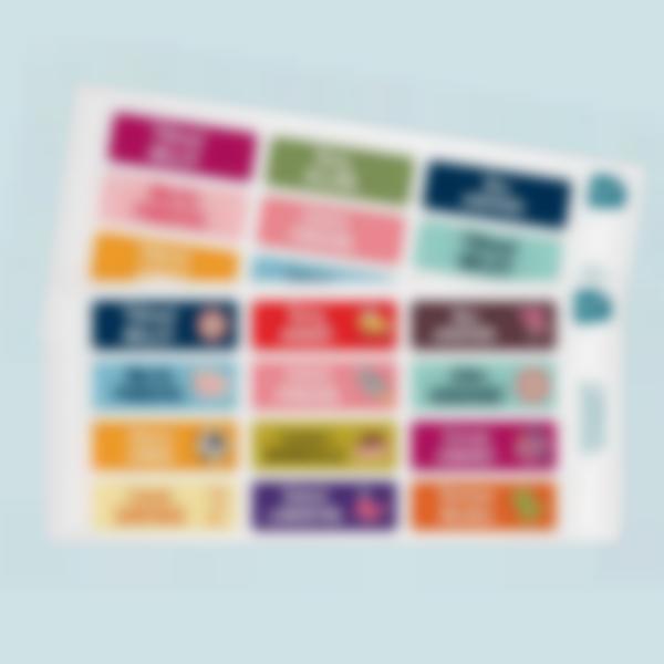 rectangles multitexte