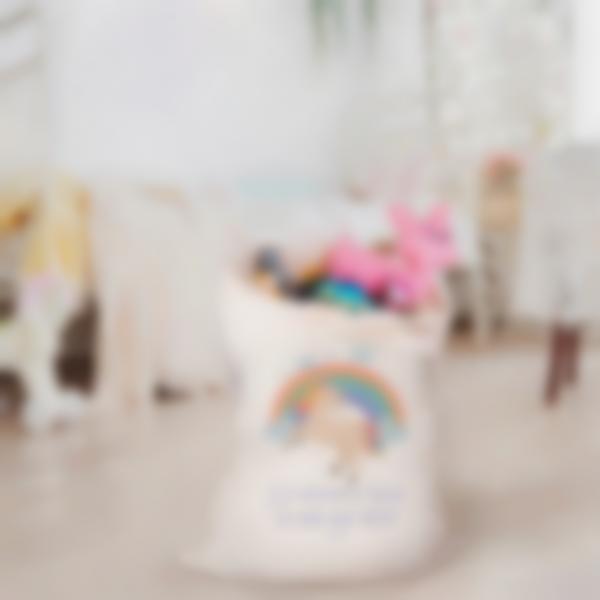 saco juguetes tejido unicornio 1