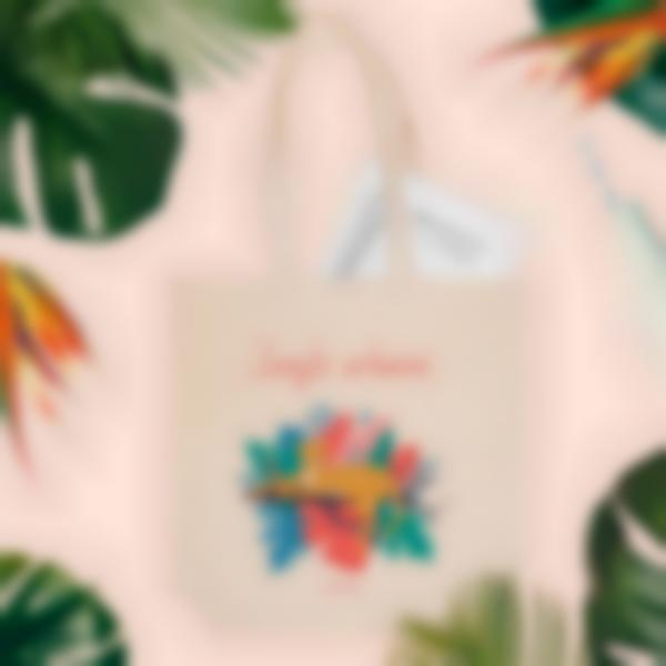 totebag jungle vibes ambiance 1
