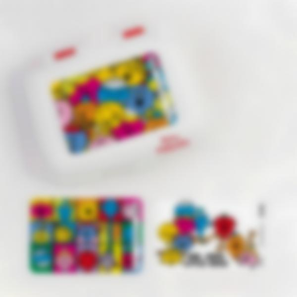 Ludibox - Boîte à goûter rouge - Monsieur Madame