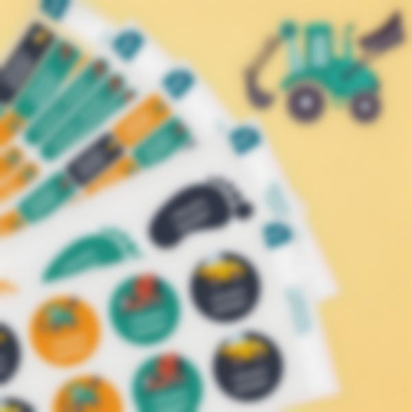 Pack Étiquettes Maternelle
