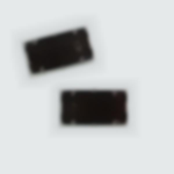 2 Cassettes d'encrage noir pour recharger le tampon