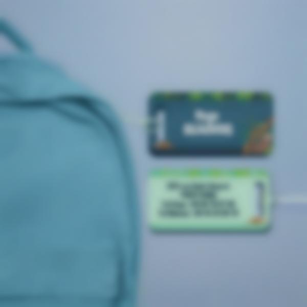Étiquette(s) rigide pour bagage