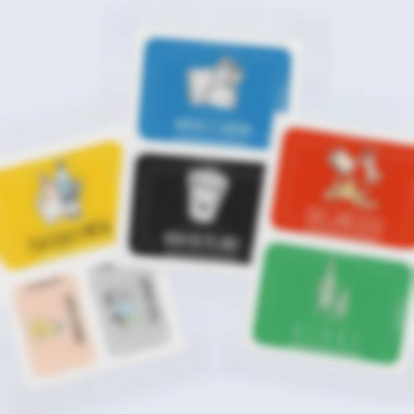Étiquettes autocollantes pour le Tri Sélectif (FR / CH FR)