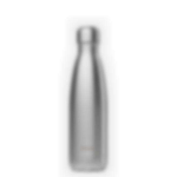 Gourde Isotherme Qwtech Inox brossé 500mL