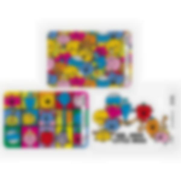 3 cartes magnétiques pour Ludibox - boîte à goûter - Monsieur Madame