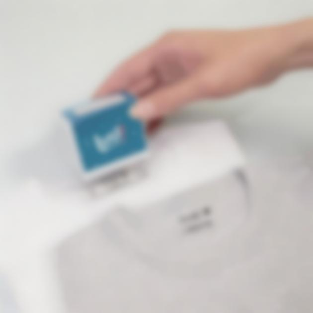 Tampon encreur à composer pour vêtements et papeterie